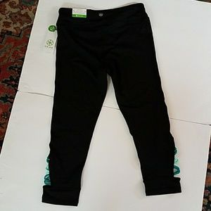 1158e5aae0 GAIAM Pants | Womens Om Pop Strappy Yoga Capris | Poshmark